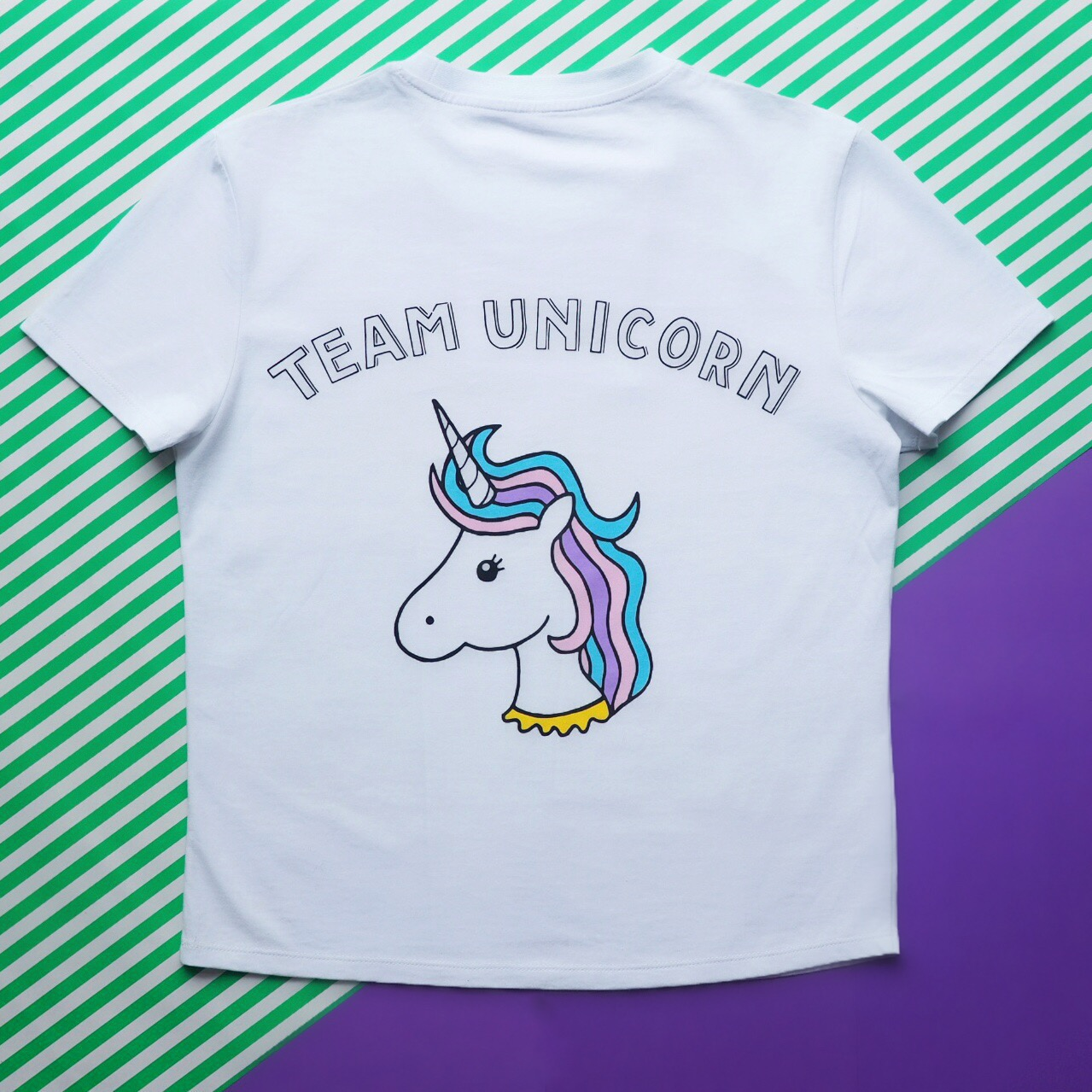 team unicorn tee two